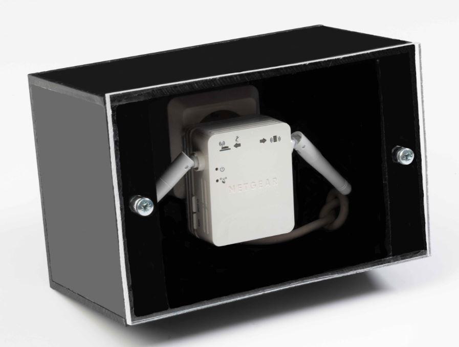 Smart 3D Holo  routerlåda. Hyra Hologram fläkt