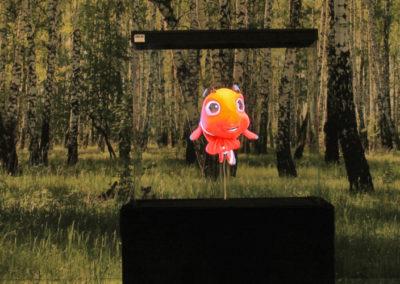 Hologram glad fisk Smart 3D Holo. Hologram fläkt